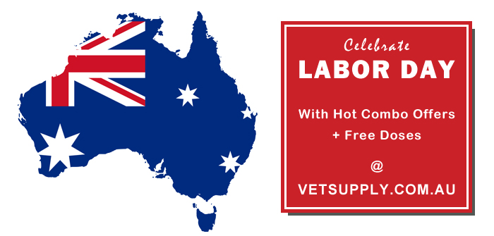 Celebrate Labour Day with Hot Combo Offers + Free Doses at VetSupply