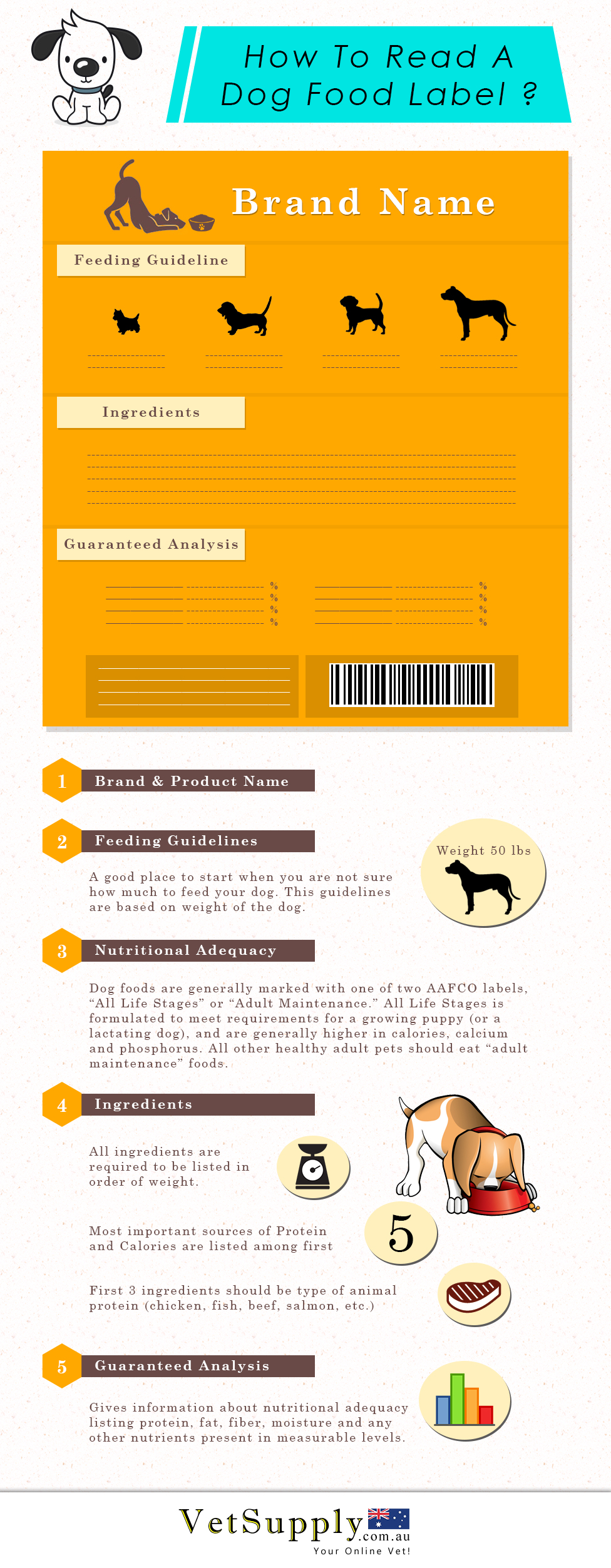 How to Read A Dog Food Label?