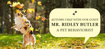 Autumn Chat with Our Guest Mr. Ridley Butler- A Pet Behaviorist