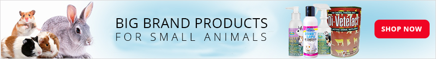 Big Brand Products For Small Animals