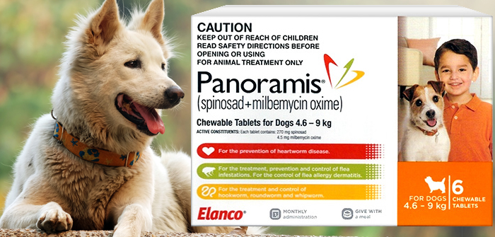 Panoramis Chewable Tablets For Dogs