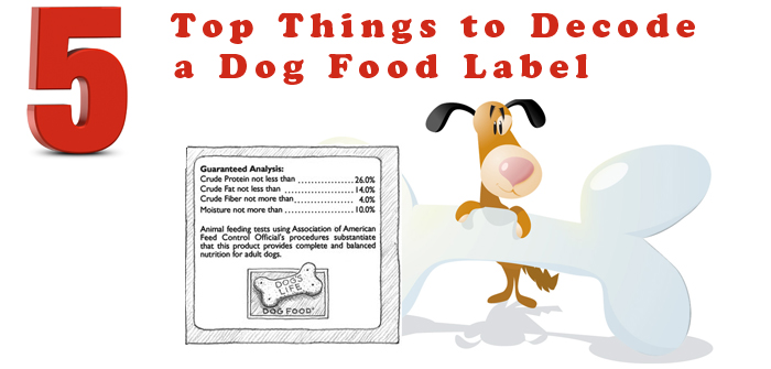 Top5 Things to Decode a Dog Food Label