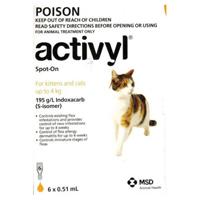 For Cat & Kitten 0-4Kg (Orange)