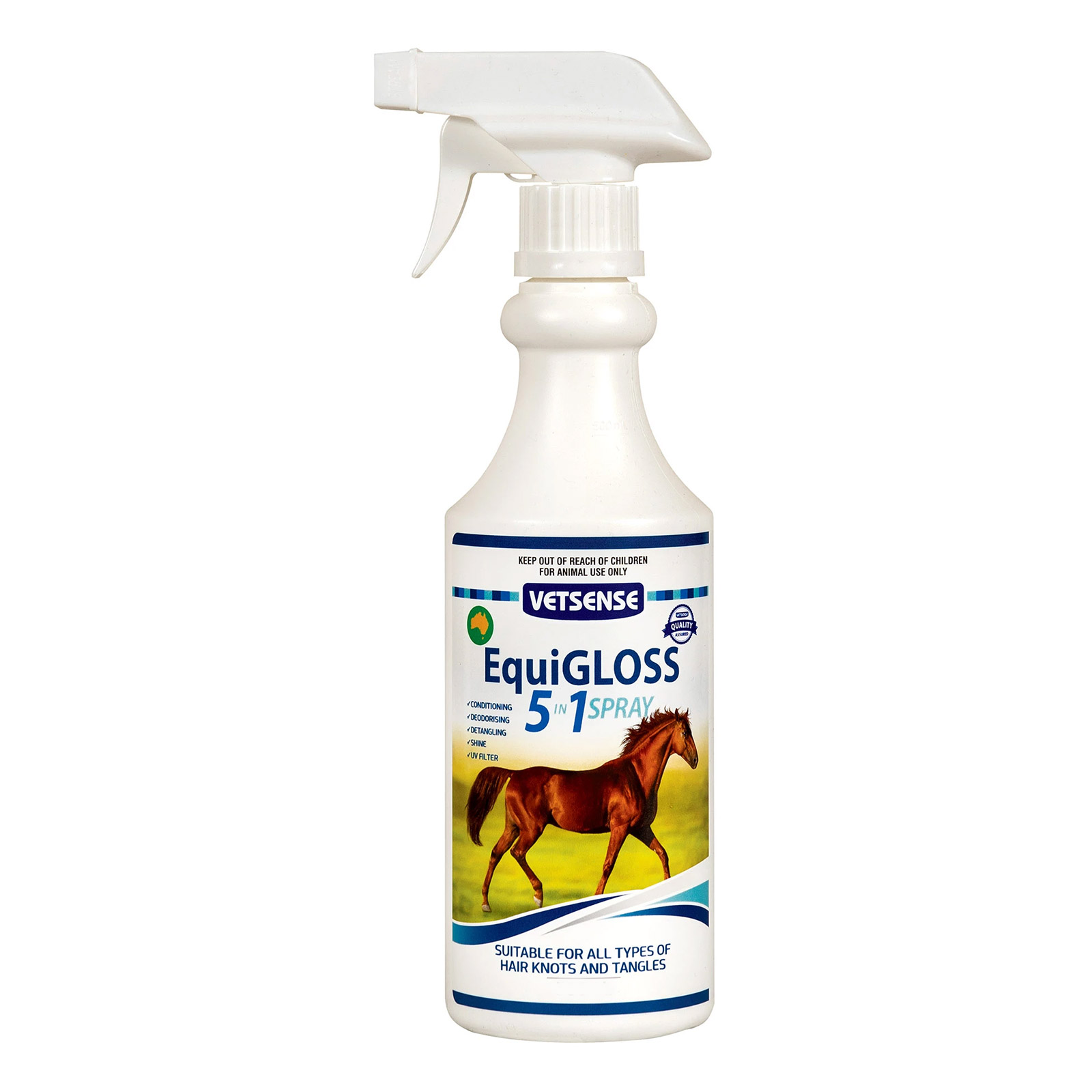 Vetsense Equigloss 5-in-1 Spray
