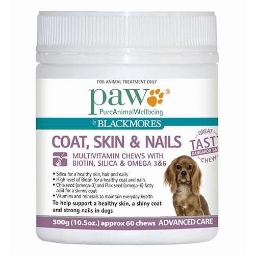 PAW Coat, Skin & Nails Multivitamin Chews 300 gm