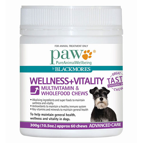 PAW Wellness & Vitality Multivitamin Chews 300 gm`