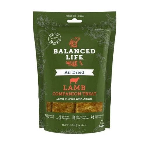 Balanced Life Dog Treats Lamb