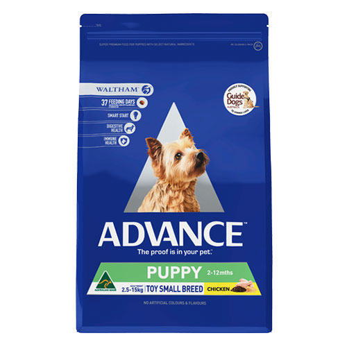 Advance Puppy Plus Rehydratable Toy/Small Breed with Chicken Dry