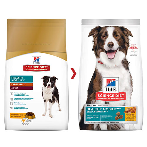 Hill's Science Diet Adult Healthy Mobility Large Breed Chicken, Rice & Barley Dry Dog Food