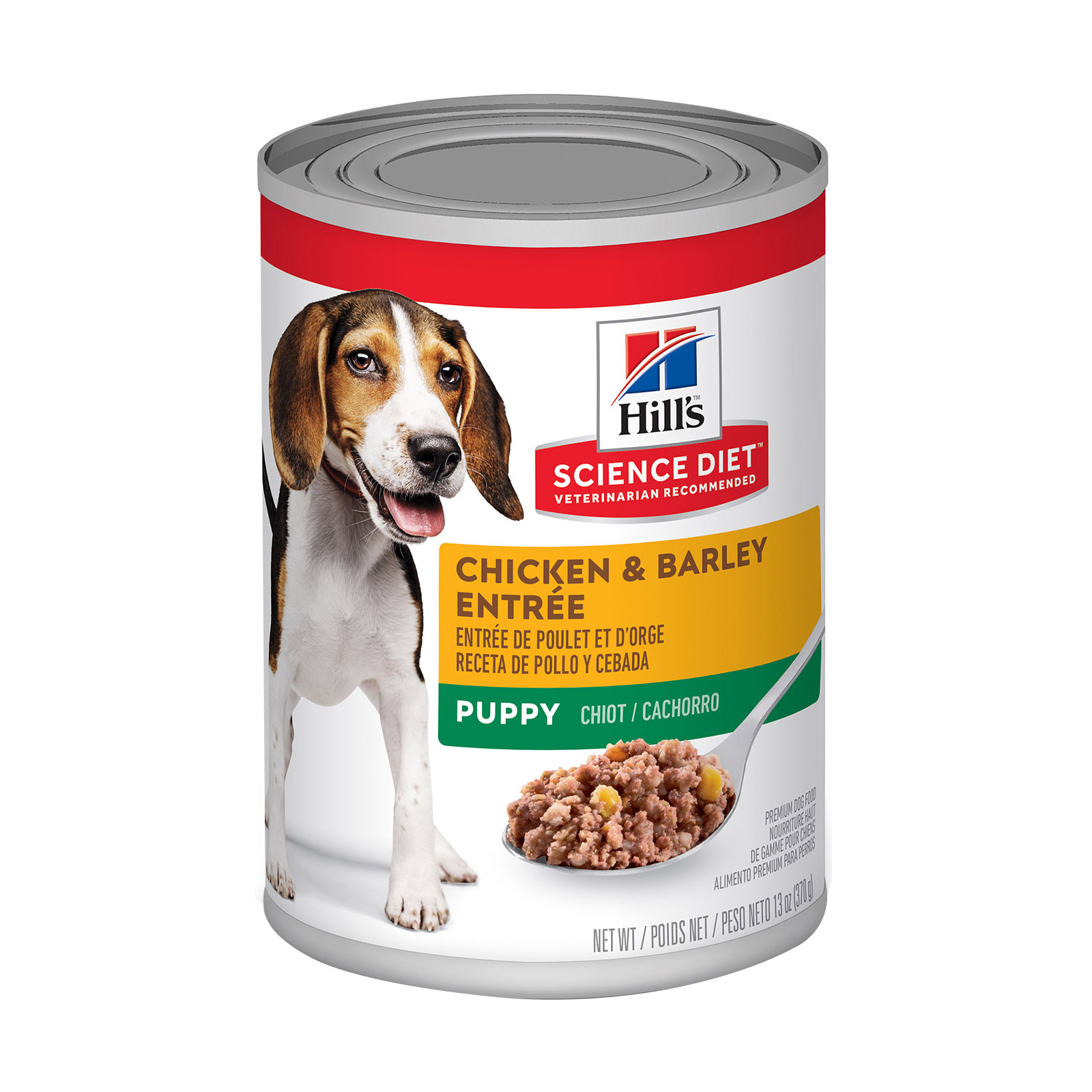 Hill's Science Diet Puppy Chicken & Barley Entrée Canned Dog Food 370 Gm