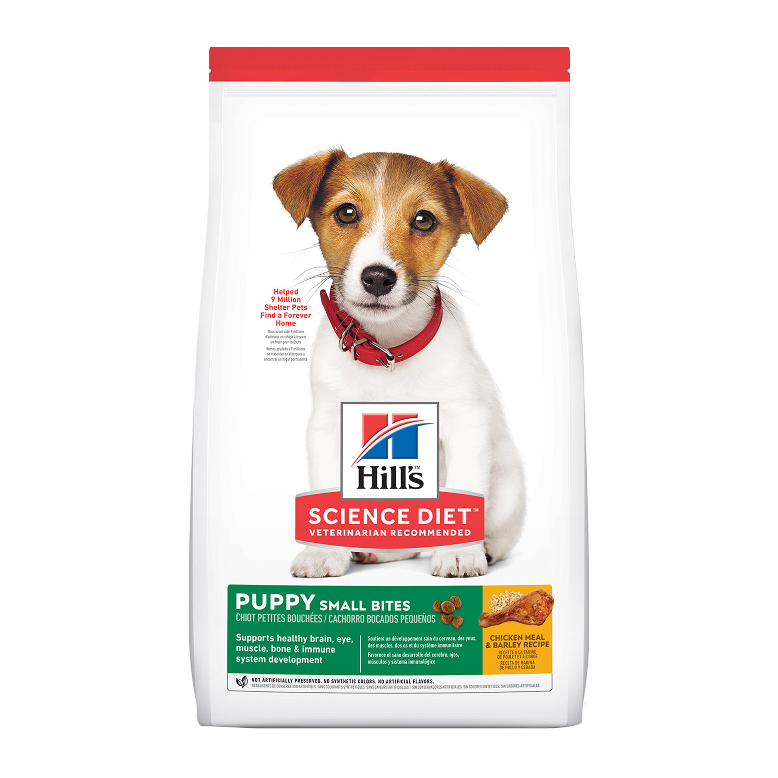 Hill's Science Diet Puppy Small Bites Chicken & Barley Dry Dog Food