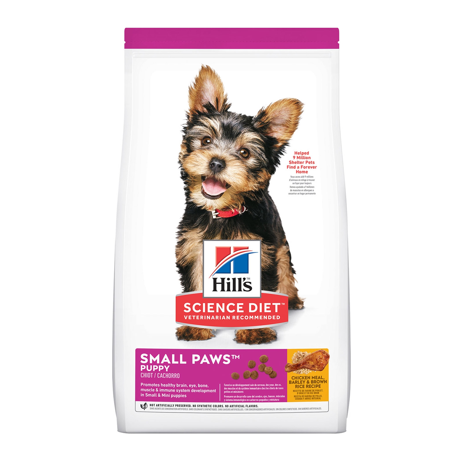 Hill's Science Diet Puppy Small Paws Chicken, Barley & Rice Dry Dog Food