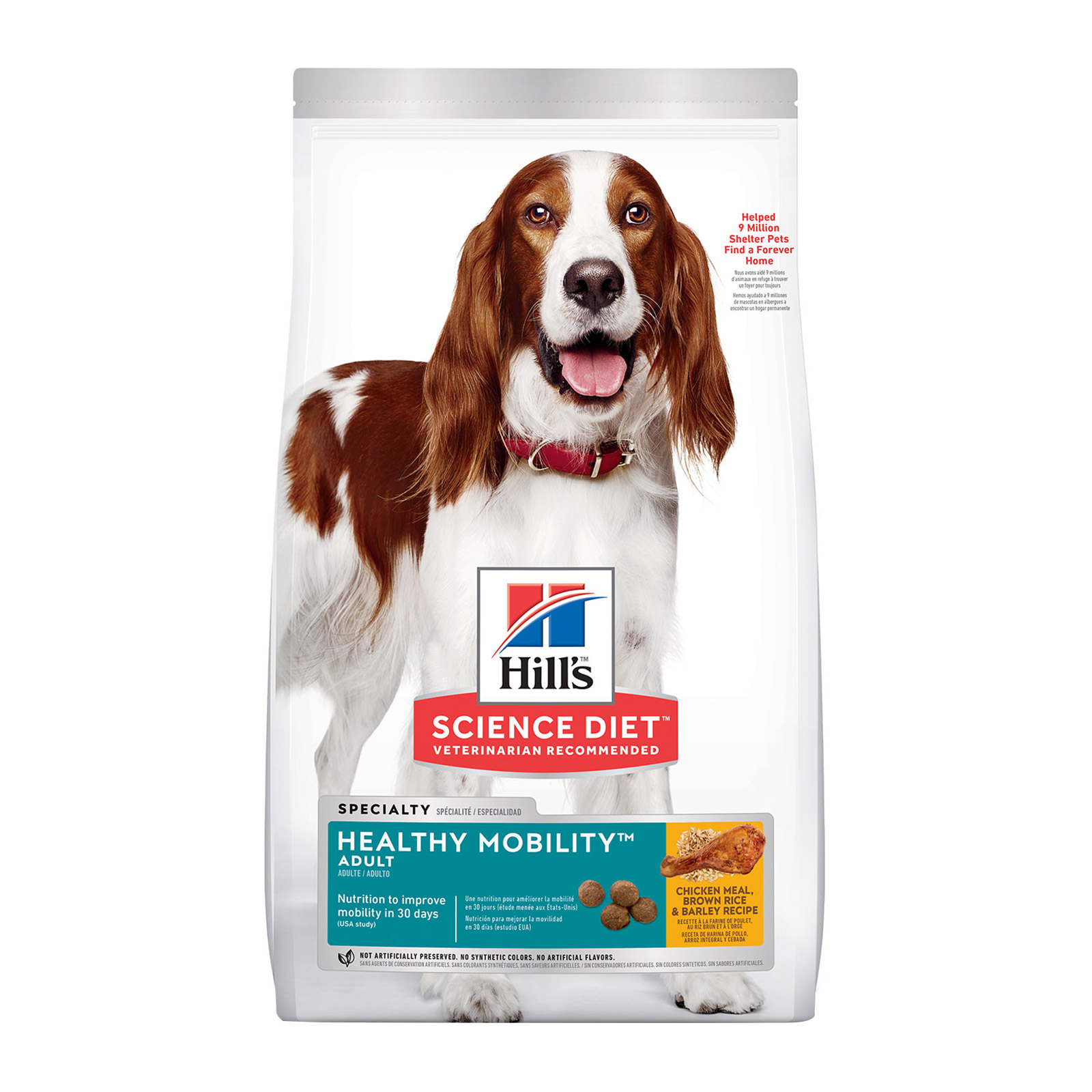Hill's Science Diet Adult Healthy Mobility Chicken, Rice & Barley Dry Dog Food