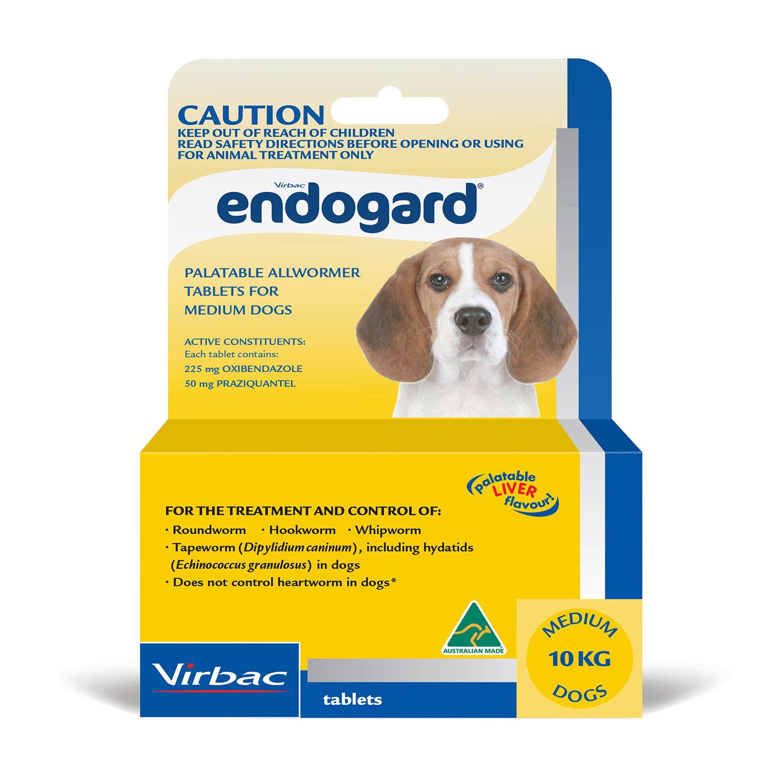 Endogard For Dogs For Medium Dogs 10Kg (Yellow)