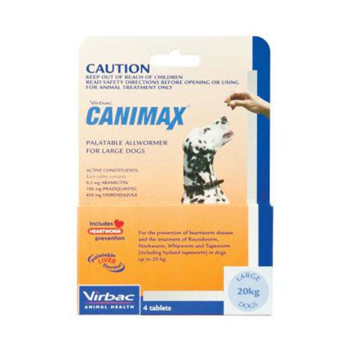 Canimax for Large Dogs 20kg (ORANGE)