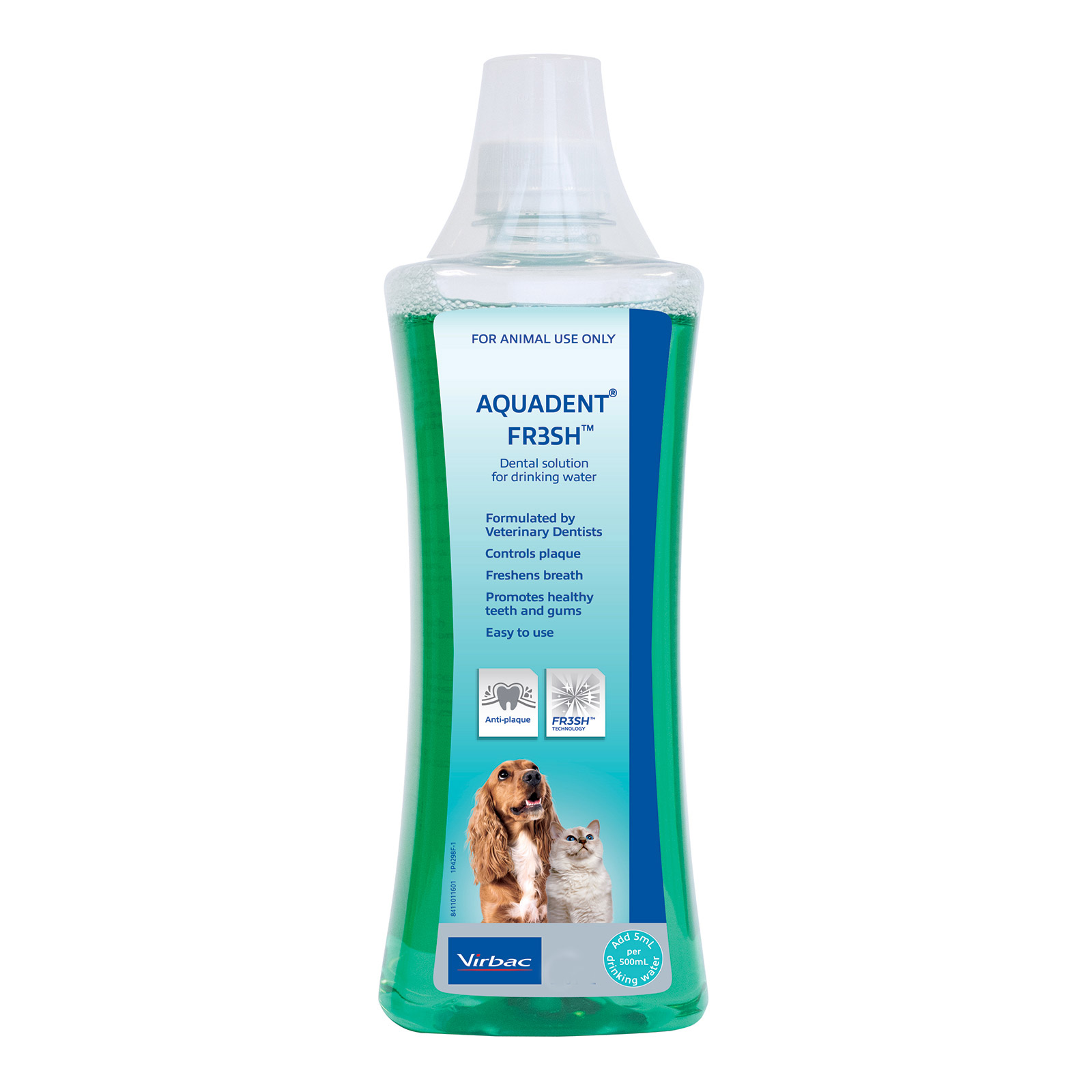 Aquadent FRESH Water Additive for Dogs and Cats
