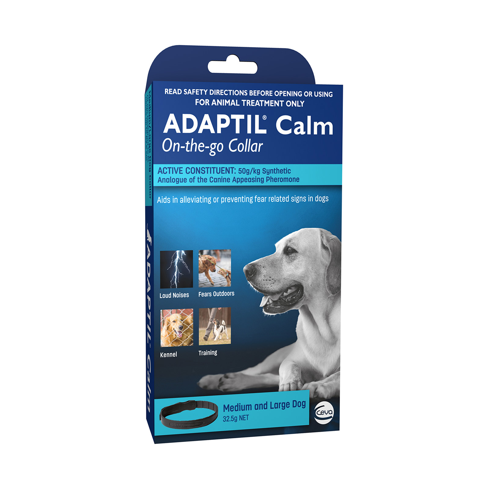 Adaptil Calm On-The-Go Collar 70cm for Medium/Large Dogs