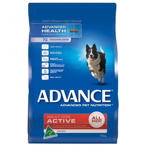 Advance Adult Dog Active All Breed with Chicken Dry