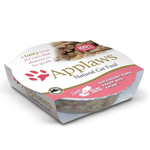 Applaws Cat Food Tuna & Crab Pot 60 Gm