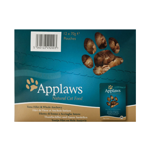 Applaws Cat Food Tuna with Anchovy Pot  70 Gm