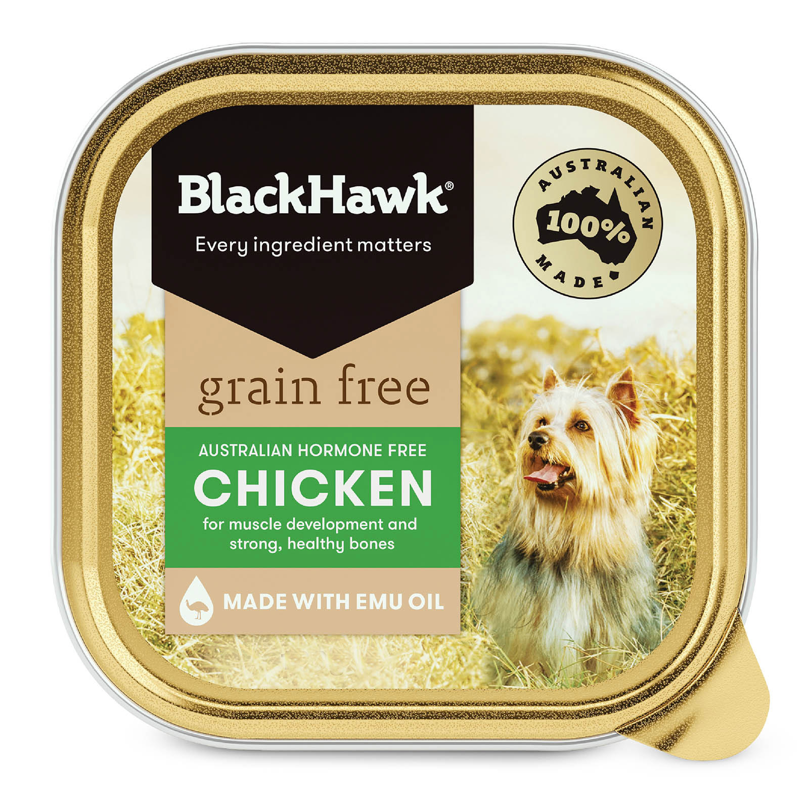 Black Hawk Grain Free Chicken Canned Wet Dog Food  100 gm