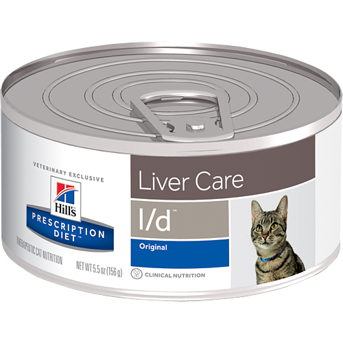 Hill's Prescription Diet l/d Liver Care Canned Cat Food 156 gm