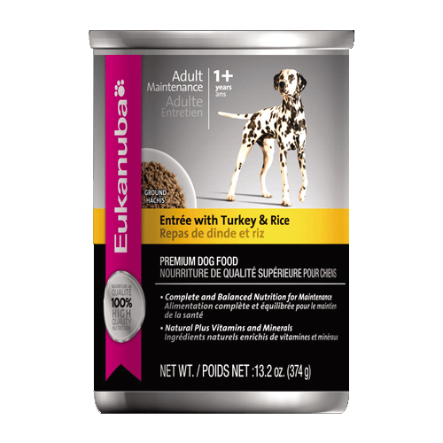 Eukanuba Dog Entree with Turkey & Rice Cans