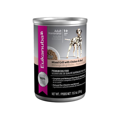 Eukanuba Dog Mixed Grill with Chicken & Beef cans