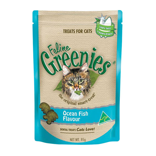 Feline Greenies Ocean Fish Cat Treats