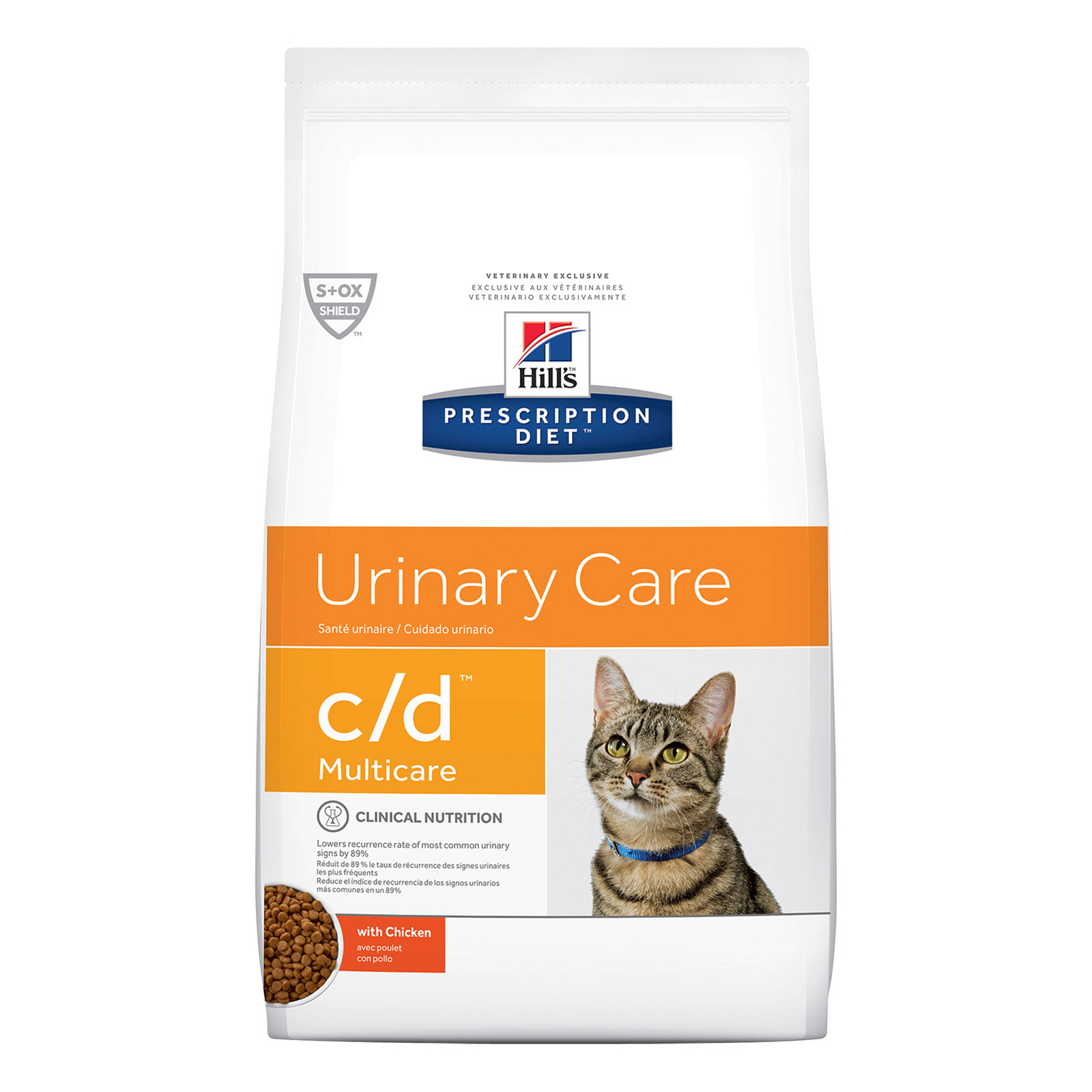Hill's Prescription Diet c/d with Chicken Cat Wet Pouch 85gmX12