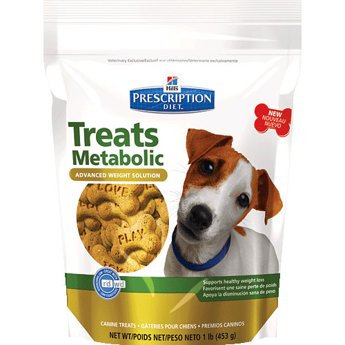 Hill's Prescription Diet Metabolic Advanced Weight Solution Canine Treats 453 Gm