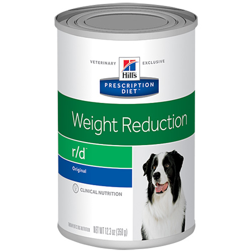 Hill's Prescription Diet r/d Weight Reduction Canned Dog Food 350 gm