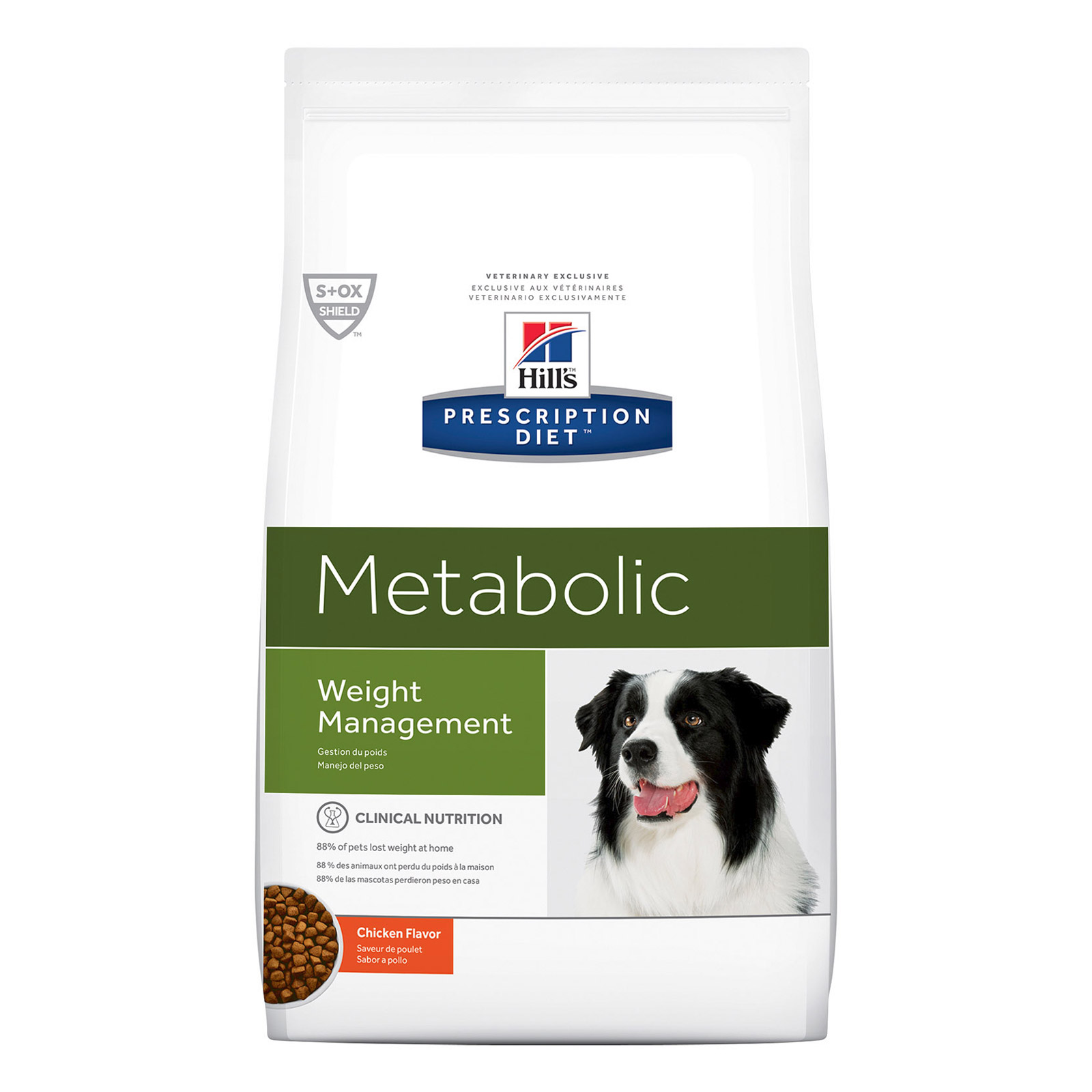 Hill's Prescription Diet Metabolic Weight Management with Chicken Dry Dog Food