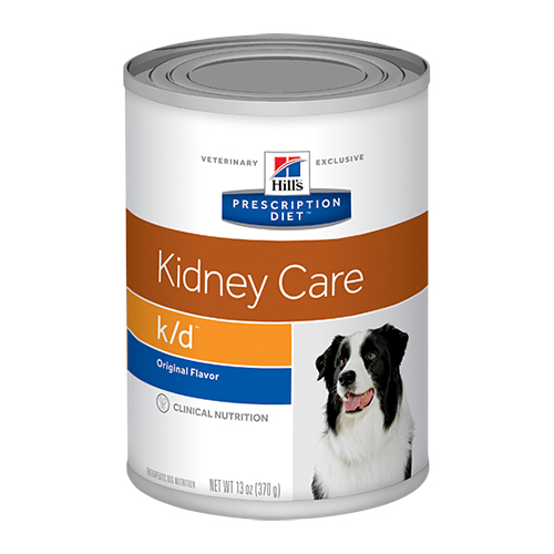 Hill's Prescription Diet k/d Kidney Care with Chicken Canned Dog Food 370 Gm