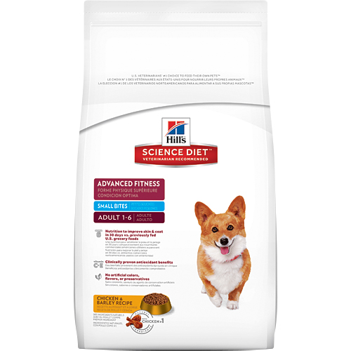 Hill's Science Diet Adult Advanced Fitness Small Bites Dry Dog Food
