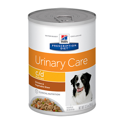 Hill's Prescription Diet Canine c/d Chicken & Vegetable Stew Cans 156 gm