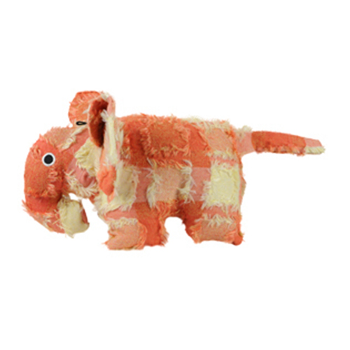 Hyper Patchwork Palz Elephant Dog Toy 20 cm