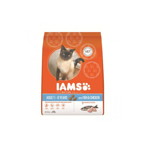 Iams ProActive Health Adult Cat Fish And Chicken