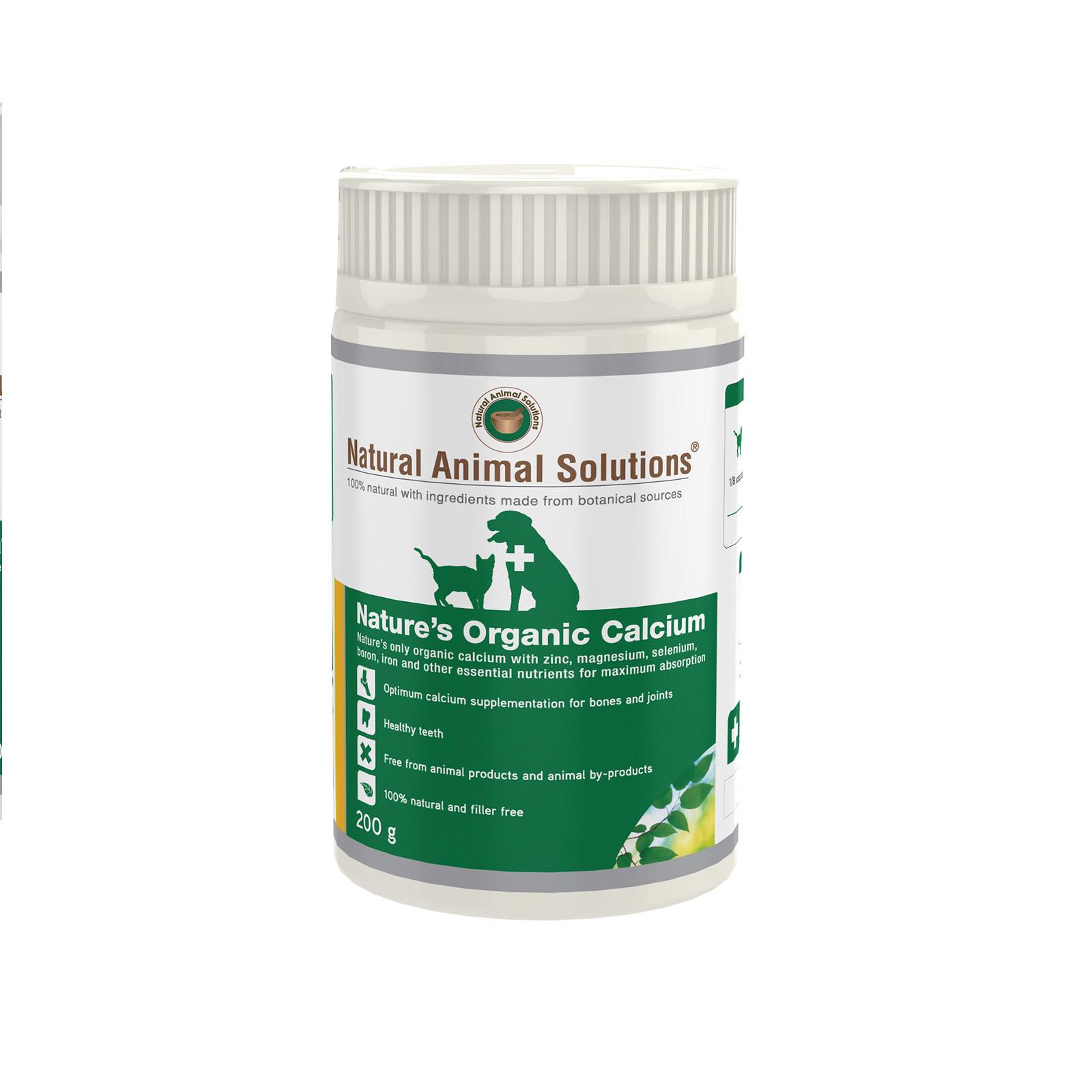 Natural Animal Solutions - Nature's Organic Calcium