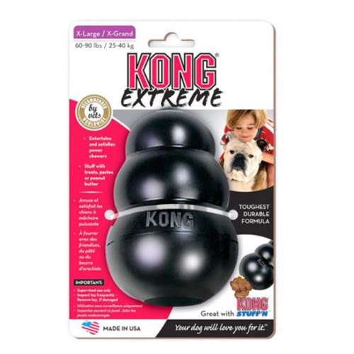 Kong Extreme Black Dog Toy  XLarge