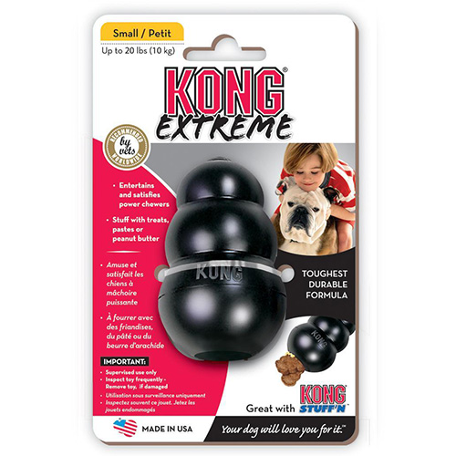 Kong Extreme Black Dog Toy  Small