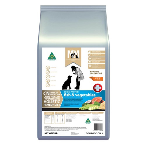 MFM Meals For Mutts Clinical Nutrition Cool Holistic Health Fish & Vegetables Dry Dog Food