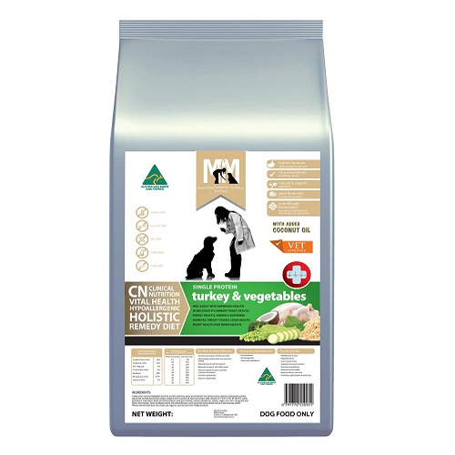 MFM Meals For Mutts Clinical Nutrition Vital Holistic Health Turkey & Vegetables Dry Dog Food