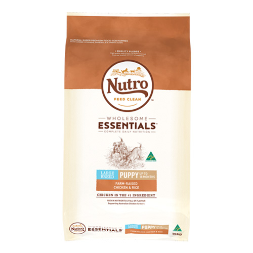 Nutro Natural Choice Puppy Large Breed Chicken and Rice Formula