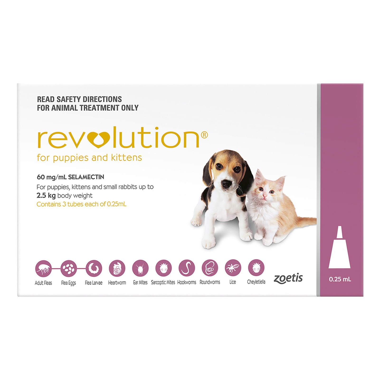Revolution For Puppies (Pink)