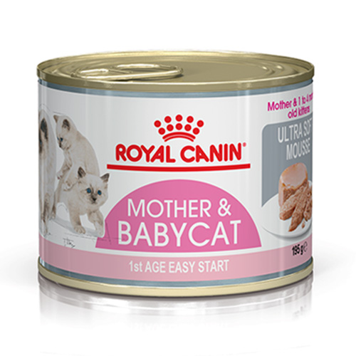 Royal Canin Mother & Babycat Ultra Soft Mousse Canned Cat Food 195 Gm
