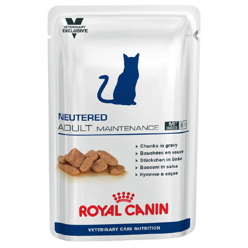 Royal Canin Veterinary Diet Neutered Adult Cat Food 100 Gm