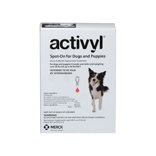 Activyl For Medium Dogs 10-20Kg (Red)