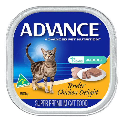 Advance Adult Cat with Tender Chicken Delight Cans 85 Gm