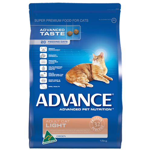 Advance Adult Cat Light with Chicken Dry